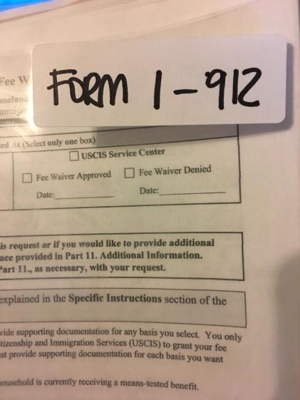 Green card paperwork